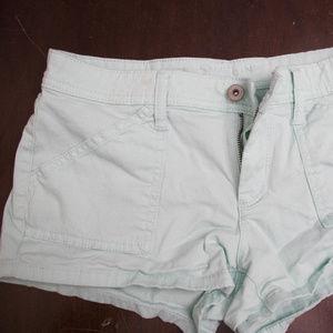 Arizona Mint Green Shorts